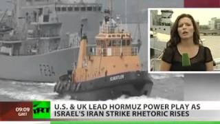 Lead Up To WW3: UK & US lead Hormuz power play as Israel