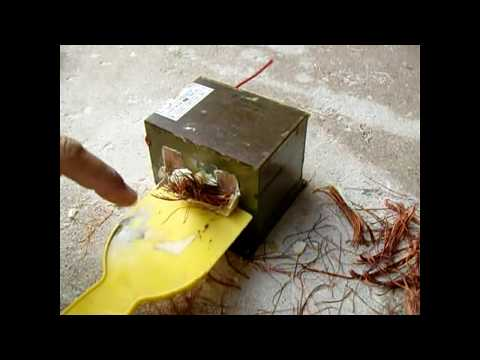 BEST Microwave Oven Transformer-MOT Rewinding Tutorial