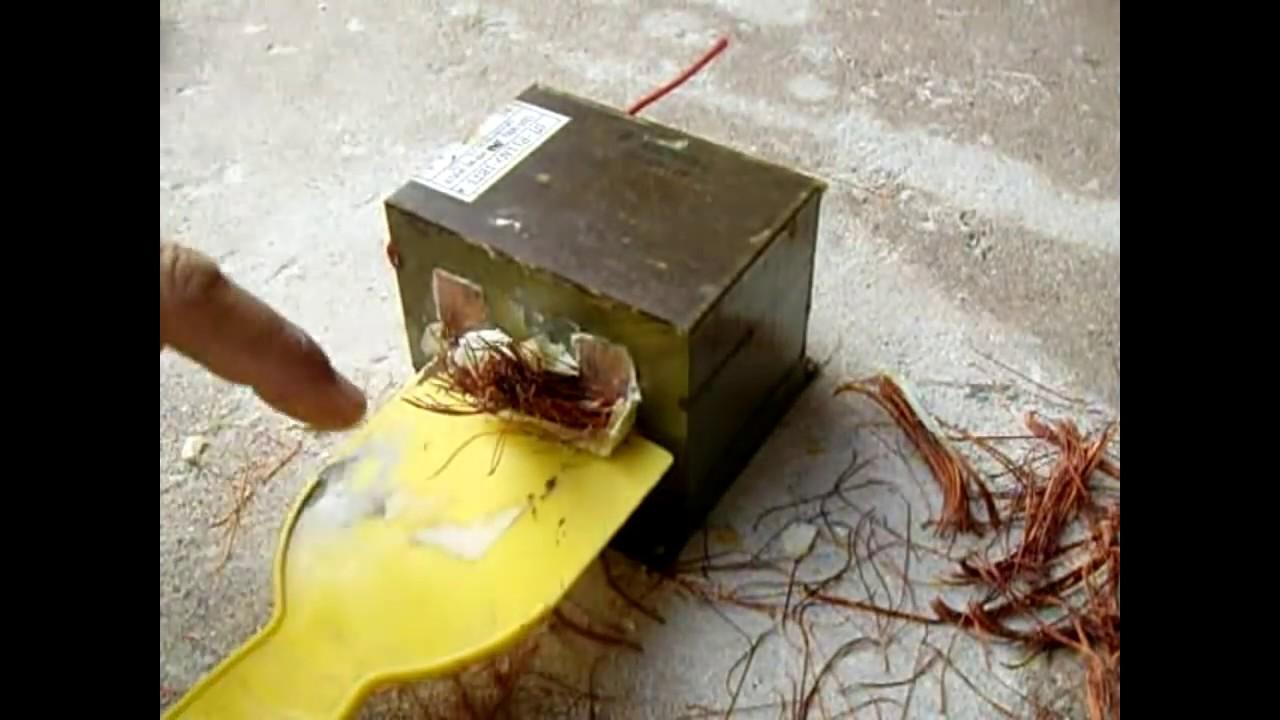 BEST Microwave Oven TransformerMOT Rewinding Tutorial  YouTube