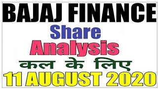 AUGUST 11 Bajaj Finance Stock Analysis Bajaj Finance Share BAJAJ FINANCE SHARE LATEST NEWS intraday