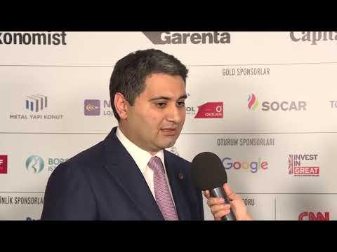 #UEZ2018 Socar Türkiye CEO'su Zaur Gahramanov Röportajı