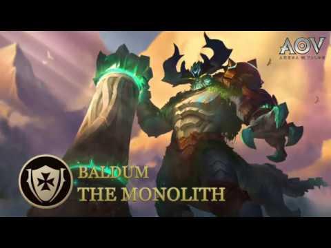 Baldum Hero Spotlight Garena Aov Arena Of Valor