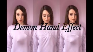 DEMON HAND EFFECT TUTORIAL! (Easy)