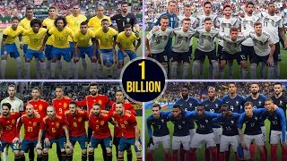 Which country has the most expensive squad at world cup 2018?