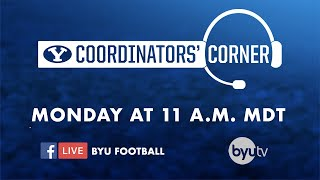 BYU Football - Coordinators' Corner - November 18, 2019