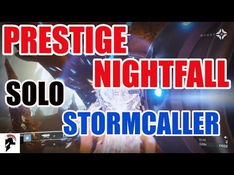 Solo Prestige Nightfall - Strange Terrain - Warlock + Wardcliff Coil
