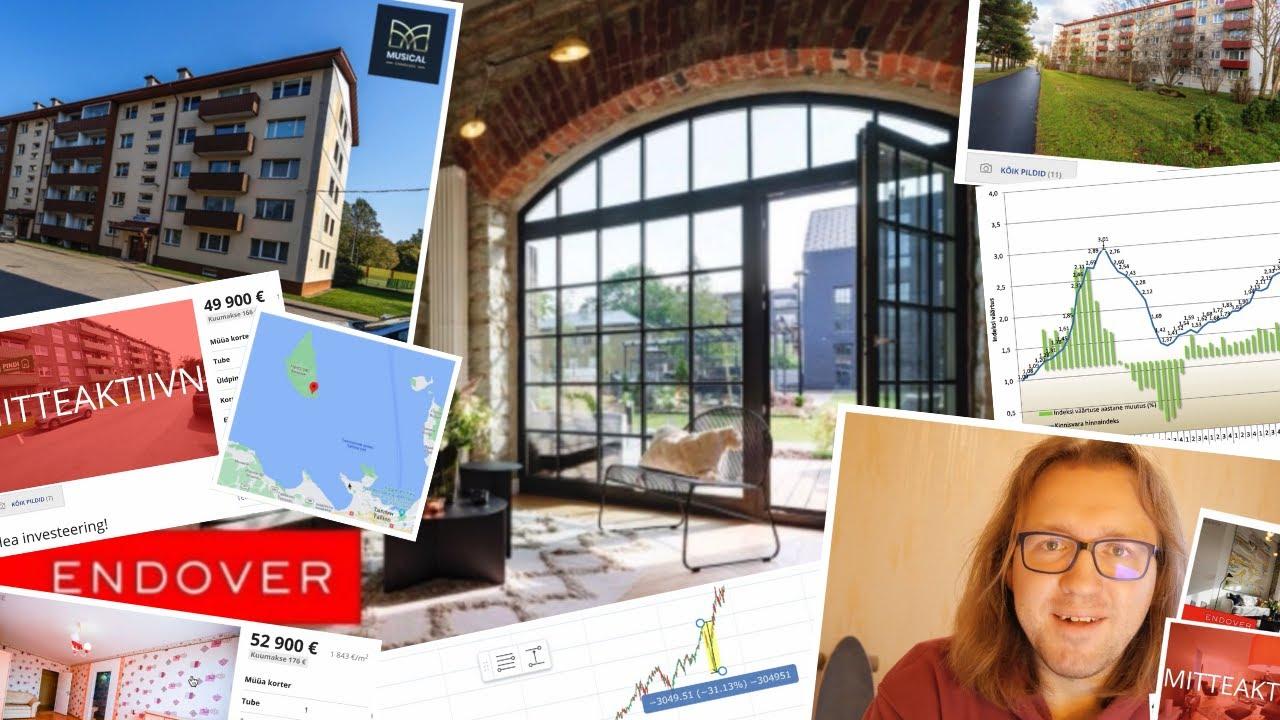 Недвижимость в эстонии цены квартиры в черногории купить недорого