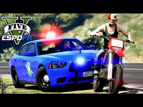 GTA 5 - LSPDFR Ep136 - Michigan State Police Patrol!!