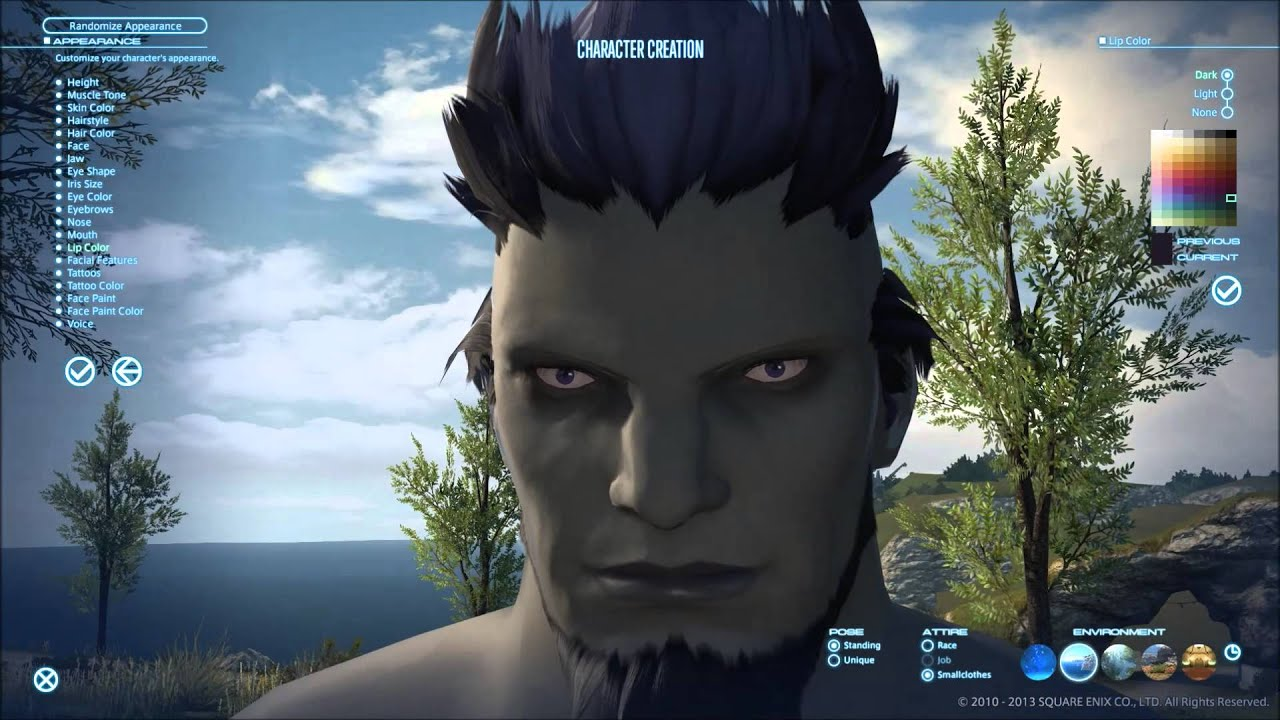 FFXIV Roegadyn Male Sea Wolves Character Creation E17