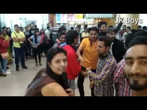 Free dance compitition at international airport Hyderabad