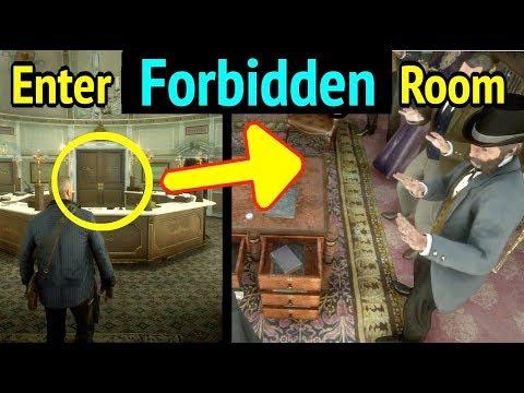 Enter Bank Manager Room in Red Dead Redemption 2 (RDR2): Forbidden Room in Lemoyne National Bank thumbnail