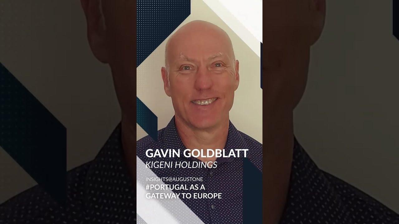 Insights@AugustOne -Gavin Goldblatt