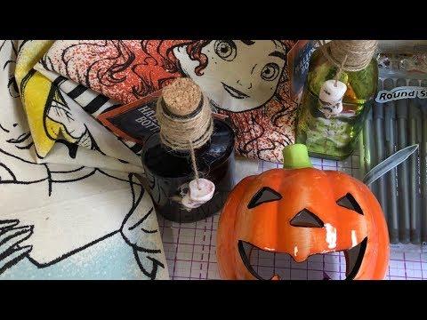 Small Poundland Haul - They've got Halloween items 🎃