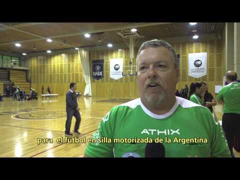 Buenos Aires Clinic 2015 en UADE | Powerchair Football Argentina