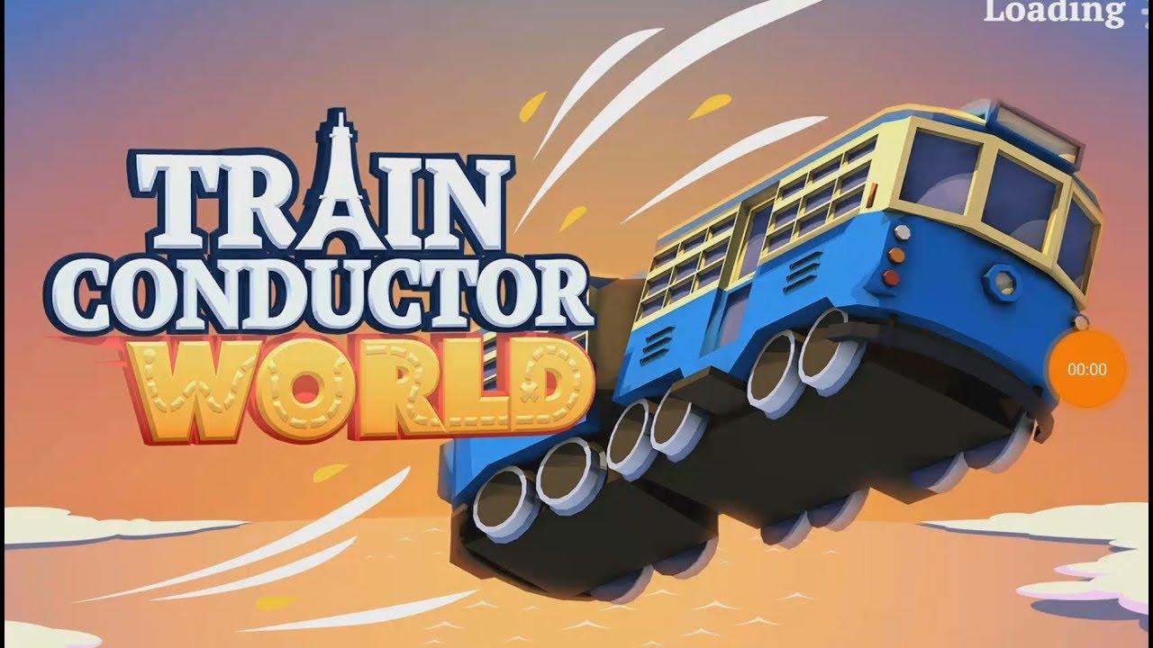 Макс играет в игры Train Conductor World Видео про поезда для детей