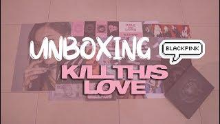 UNBOXING BLACKPINK 2nd MINI ALBUM - KILL THIS LOVE - BLACK VERSION