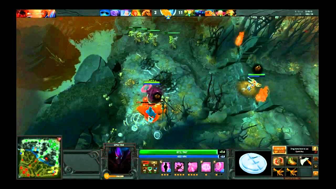 eg fear live stream pro dota 2 spectre game youtube