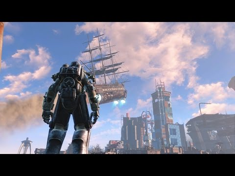 How to  Ride the U.S.S.  Constitution in Fallout 4