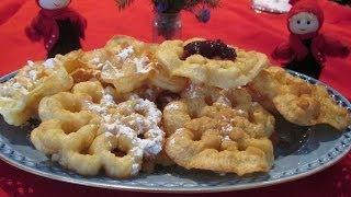 Scandinavian Rosette Cookies A traditional homemade Christmas cookie recipe for Jul! ♥