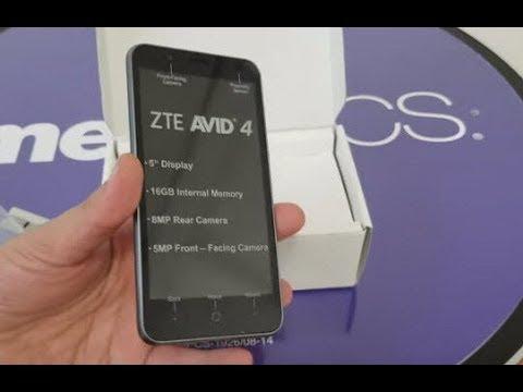 ZTE Avid 4 MetroPCS Specs and Price in US $49   Cheap MetroPcs Phone 2018