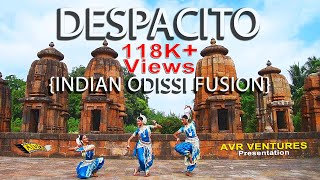 DESPACITO | INDIAN ODISSI FUSION | AVR VENTURES | CLASSICAL DANCE | LUIS FONSI | JUSTIN BIEBER