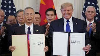 WATCH LIVE: Trump signs 'phase one' of trade deal with China as House moves on impeachment