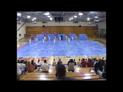 2003 Scottsburg Middle School Winter Guard