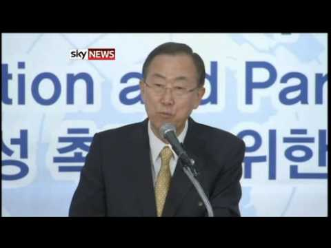 Syria: Ban Ki-Moon Warns Of 'Consequences'