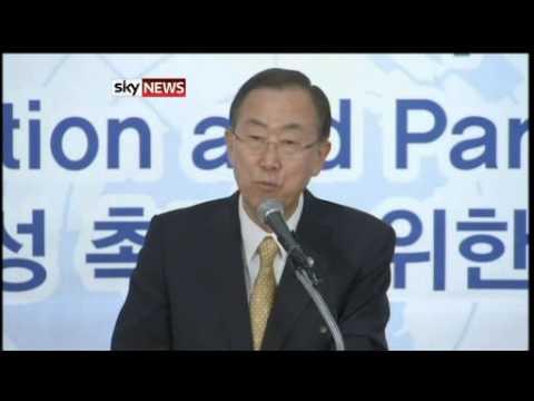 Syria: Ban Ki-Moon Warns Of 'Consequences'