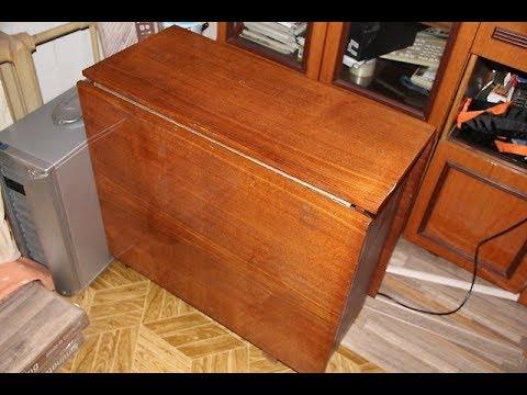 Хотел выбросить старый советский стол. Жена попросила этого не делать, и вот почему - Видео с Ютуба без ограничений