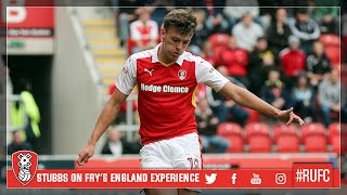 YOUTUBE | Alan Stubbs on Dael Fry's experience with the England senior squad