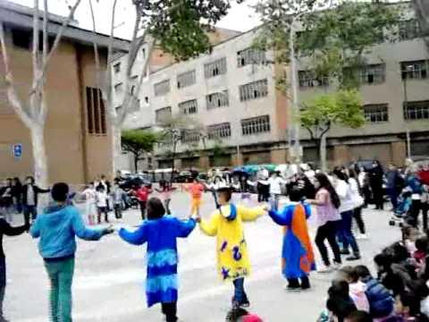 Sant Jordi 2013__ Escola Bàrkeno - IES Montjuic