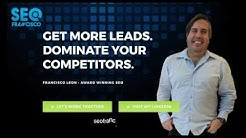 Toronto SEO Expert, Specialist & Consultant - Local SEO Francisco Leon