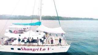 제주도 중문 색달해변 서핑 요트 투어 샹그릴라 드론 영…