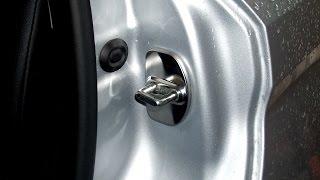 Lada Vesta.  Накладки на дверные замки
