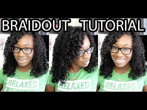 Hairlicious Inc.: Braidout Tutorial | Straight From Eden by Creme of Nature