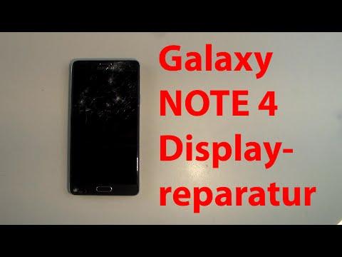 Samsung Galaxy Note 4 Display wechseln reparieren repair LCD tauschen