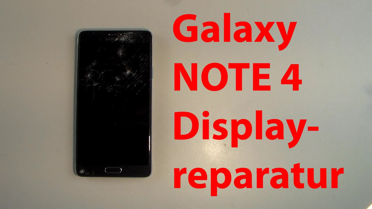 samsung galaxy note 4 display wechseln reparieren repair lcd tauschen youtube. Black Bedroom Furniture Sets. Home Design Ideas