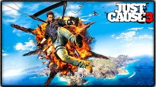 Just Cause 3 FREE ROAM GAMEPLAY! Map Exploring, Exploding Sh*t & More Craziness! (JC3 Funny Moments)