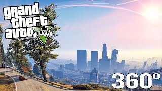 Experience GTA 5 In VIRTUAL REALITY! - BVRE -