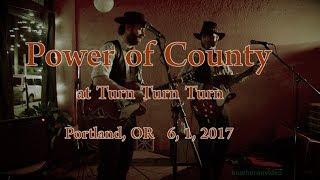 "Power of County  ""Charlie Sad"" -Live-  at Turn Turn Turn  6, 1, 2017"