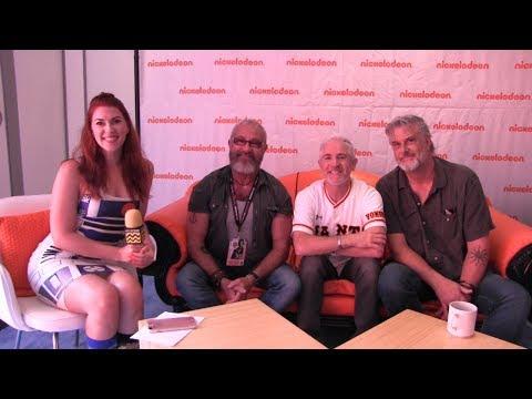 Charlie Adler, Carlos Alazraqui, & Joe Murray at San Diego Comic-Con