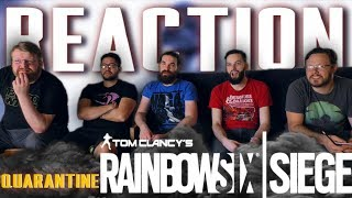 Rainbow Six Siege: Operation Phantom Sign & Quarantine Official Trailer REACTION!! #E32019