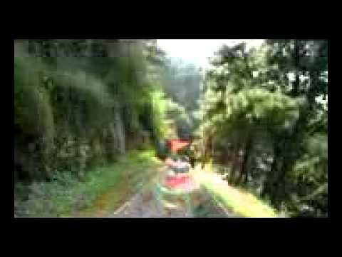 Great Wall of China Tobaggan Ride