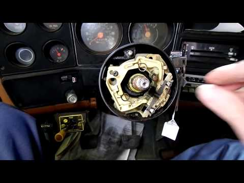 79- Chevy Truck Ignition lock Cylinder Replacement
