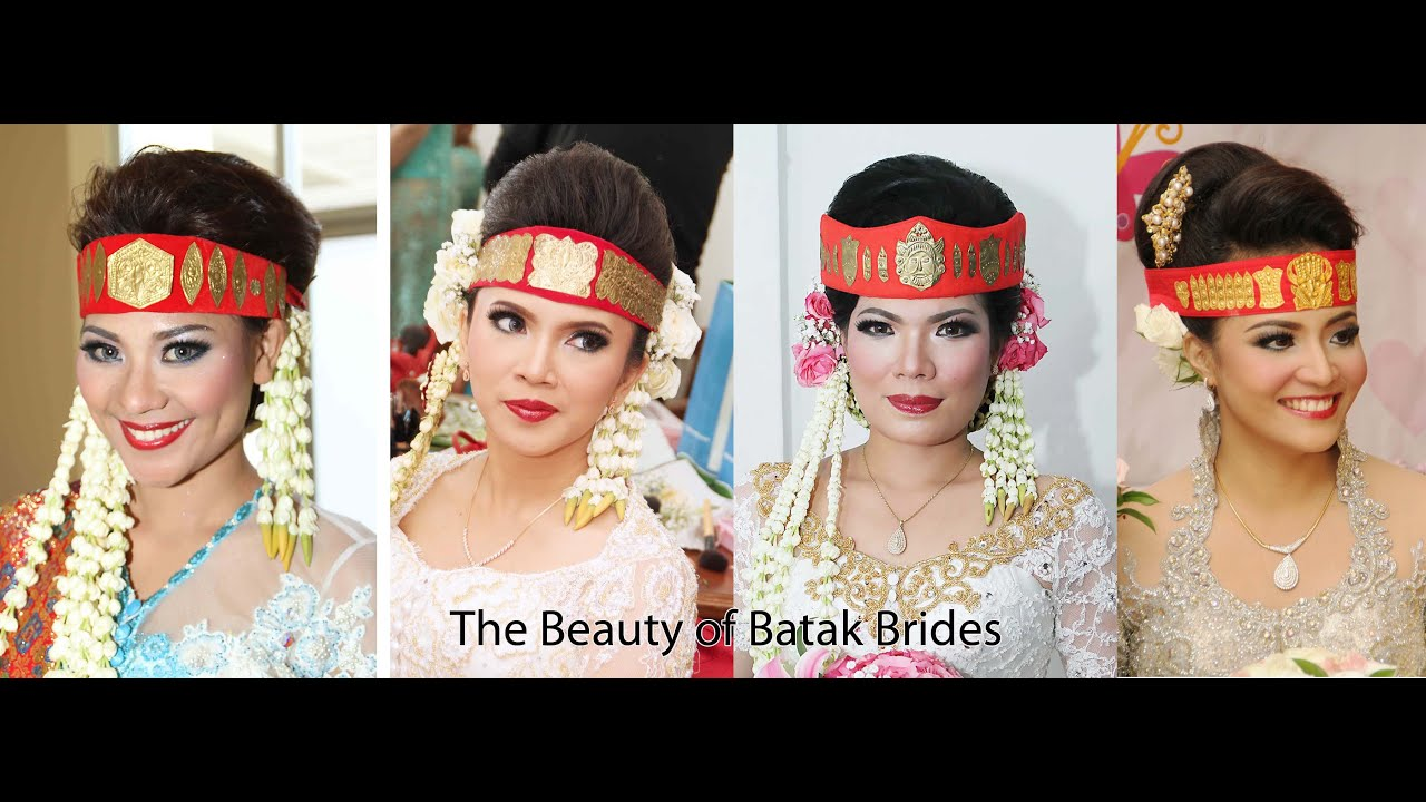 Traditional Batak Bridal Make Up By Nina Arimurti Youtube