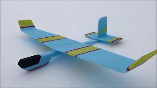 How to make a simple glider plane with foam plates Amazing Toy