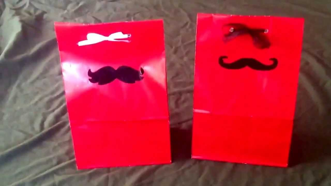 mustache birthday party bags circuit mustache banner babies first