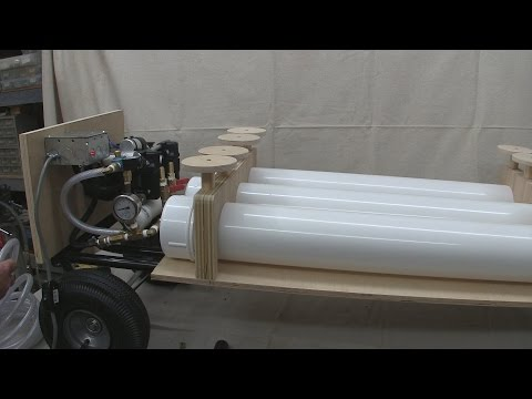 2015-01-30 Building a large scale vacuum veneering press