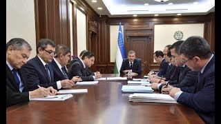 Президент Узбекистана провел совещание по развитию электроэнергетики (